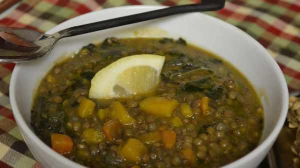 image آموزش پخت سوپ مقوی و رژیمی کدو