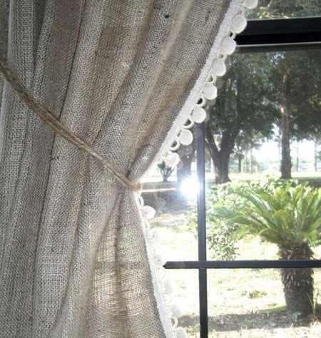 image, چطور با استفاده از گونی های قدیمی کنفی منزل خود را زیبا کنیم