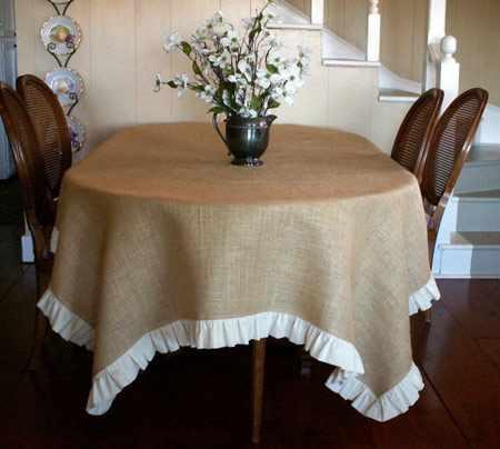 image چطور با استفاده از گونی های قدیمی کنفی منزل خود را زیبا کنیم