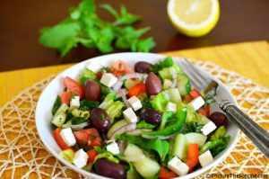 image آموزش تهیه سالاد سبزیجات و میوه به سبک ترکیه ای