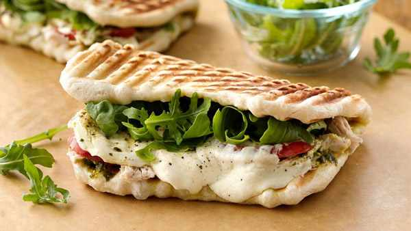 image, آموزش تهیه ساندویچ پانینی مارگریتا ایتالیایی