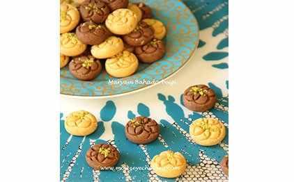 image, طرز تهیه خانگی شیرینی بهشتی کرکی