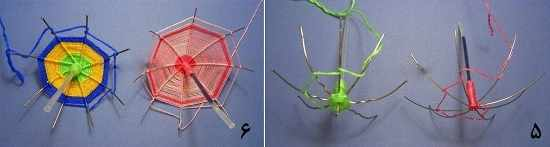 image آموزش ساخت چترهای تزیینی کوچک با لوازم دور ریختنی