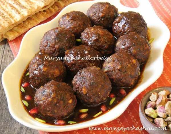 image, آموزش پخت کوفته انار و پسته مخصوص مهمانی شب یلدا