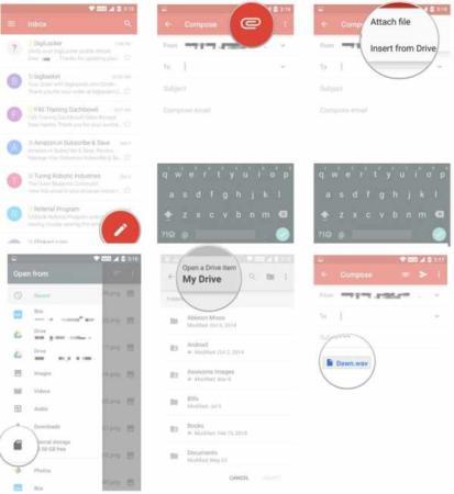 image, آموزش تصویری کار کردن با برنامه Gmail در موبایل اندروید