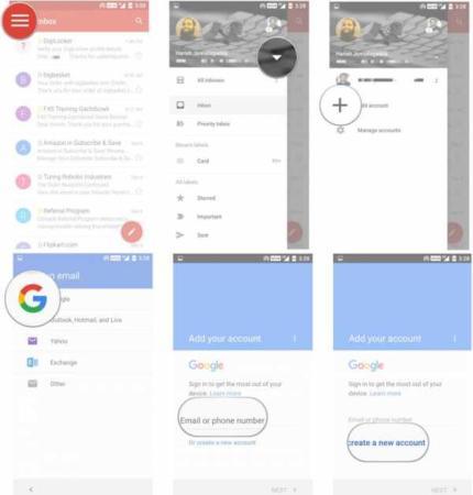 image آموزش تصویری کار کردن با برنامه Gmail در موبایل اندروید