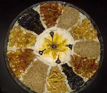 image, ایده های جدید و زیبای تزیین کشک بادمجان برای مهمانی