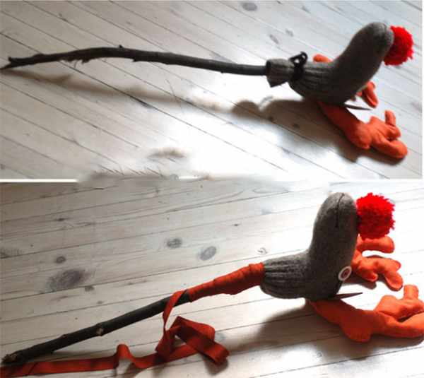 image آموزش دوخت عروسک بامزه برای بچه ها با جوراب