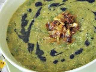 image آموزش پخت سوپ مقوی عدس با شیر گرم