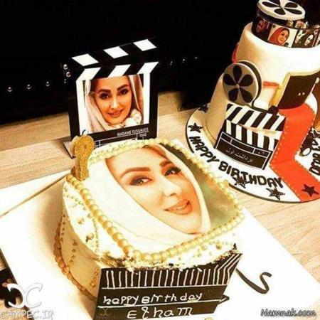 image, عکس کیک جشن تولد الهام حمیدی هنرمند محبوب