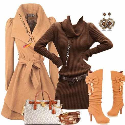 image آموزش ست کردن لباس های فصل سرد مخصوص مهمانی