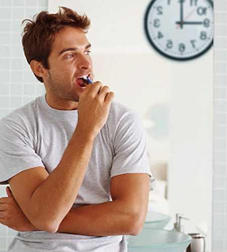 image مفیدترین زمان روز یا شب برای مسواک زدن