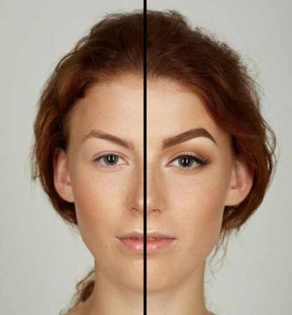image چطور چشم های کوچک را بزرگ نشان دهیم با آرایش و تصویری