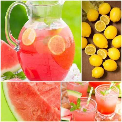image آموزش تهیه لیموناد و هندوانه نوشیدنی خنک تابستانی