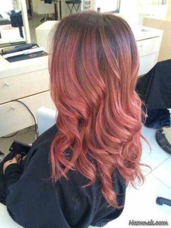 image رنگ موی آمبره چیست و آموزش مدل های متنوع آن