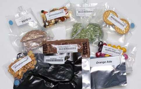 image عکس از غذای فضانوردان که در فضا میخورند