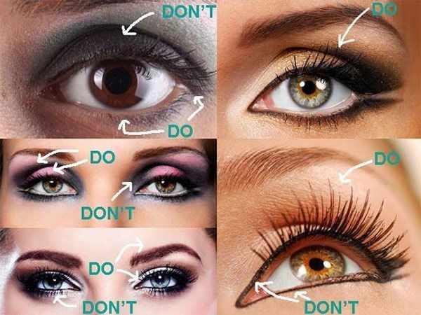 image آموزش تصویری خط چشم کشیدن برای چشم های گود