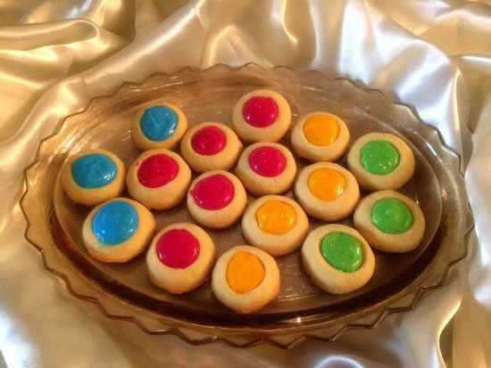 image آموزش پختی شیرینی رنگی رنگی مناسب برای بچه ها