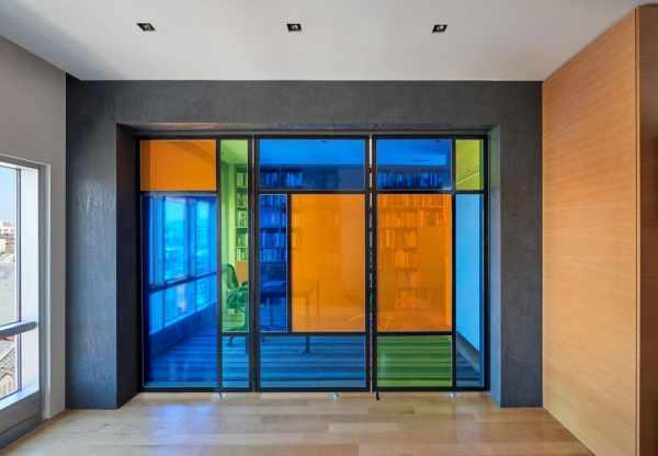 image, دکوراسیون مدرن و دیدنی خانه بزرگ با نقشه طراحی