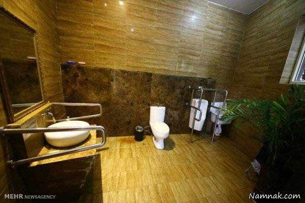 image تصاویر دیدنی سرویس های بهداشتی مجهز بین راهی در چین