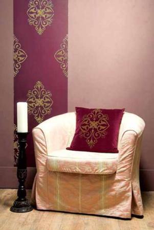 image, آموزش طراحی دیوارهای منزل با اکلیل و رنگ