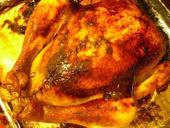 image آموزش تهیه مرغ شکم پر مرحله ای و با عکس
