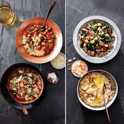 image آموزش درست کردن چند مدل غذای مقوی با حبوبات