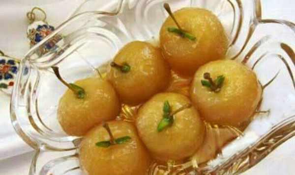 image آموزش پخت مربای سیب به شکل سیب کامل