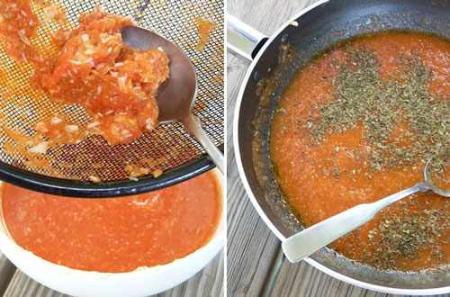 image آموزش پخت سس گوجه مخصوص ایتالیایی
