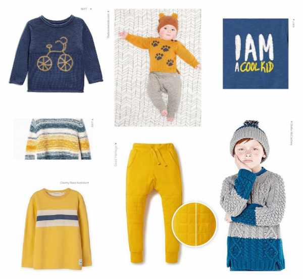 image آموزش تصویری ست کردن رنگ و مدل های مختلف لباس بچه
