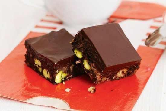 image, آموزش درست کردن شکلات مکعبی پسته ای مجلسی