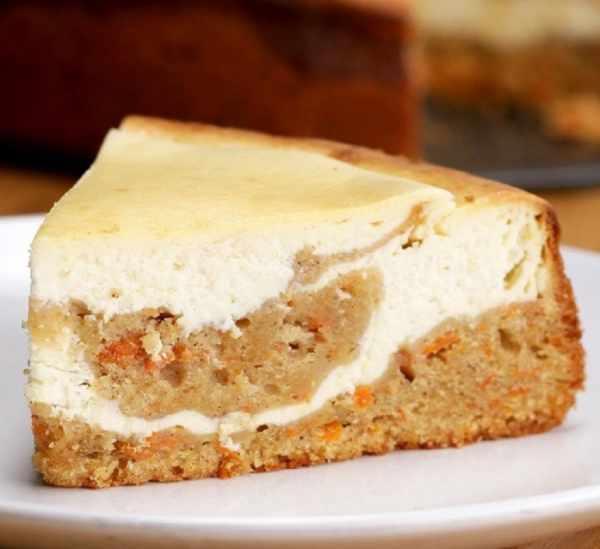 image آموزش تهیه دسر چیز کیک هویجی