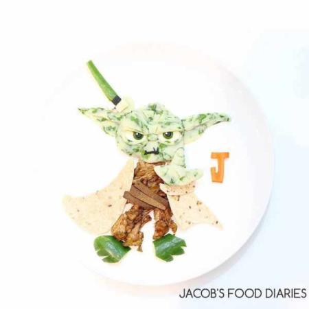 image تزیین های فوق العاده دیدنی بشقاب غذا برای بچه ها