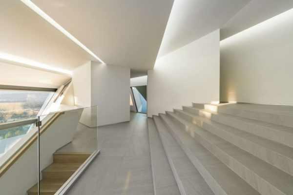 image, تصاویر و نقشه طراحی ساختمانی شیک با نمای هندسی