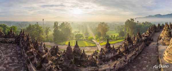 image عکس های فوق العاده دیدنی از معبد بوروبودور اندونزی و توضیحات