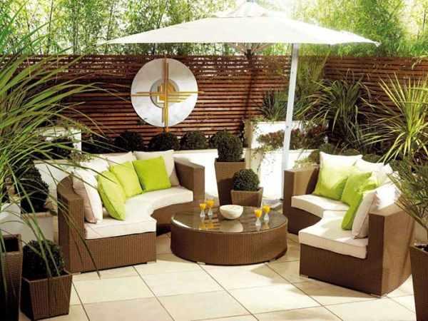 image طراحی مبل و صندلی های شیک و مدرن برای فضای باز