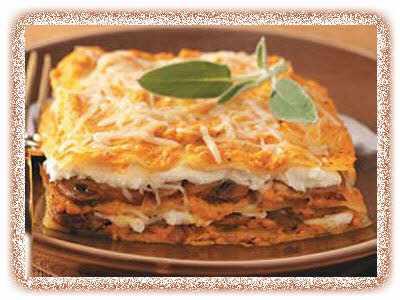 image آموزش پخت تمام انواع لازانیا گیاهی با گوشت با پنیر
