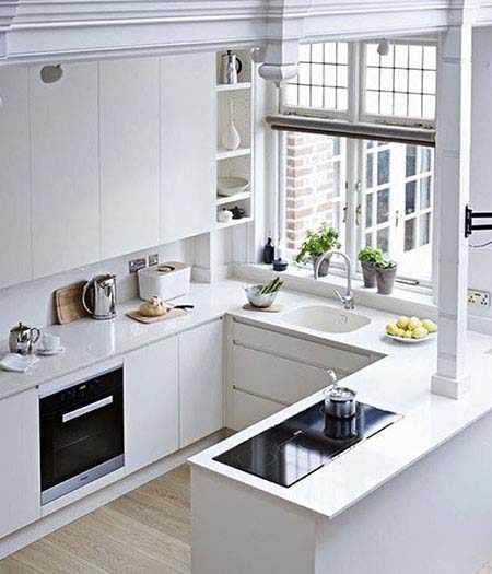 image ایده های جالب برای طراحی کابینت با عکس