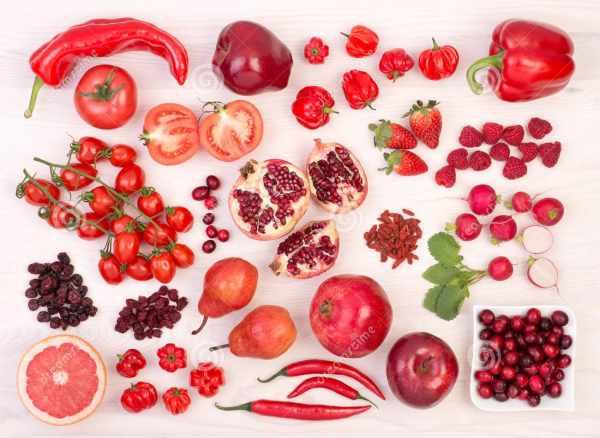 image معرفی سبزی و میوه های قرمز رنگ و خواص آنها