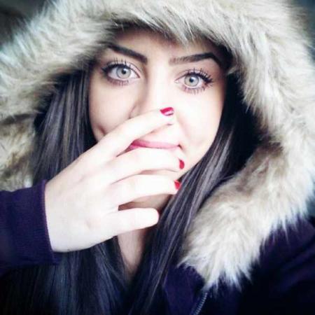 image تصاویر دیدنی ورونا دختر عراقی با زیباترین چشم ها در جهان