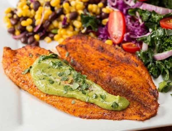 image دستور پخت مخصوص سرآشپز برای ماهی تیلاپیلا با سس