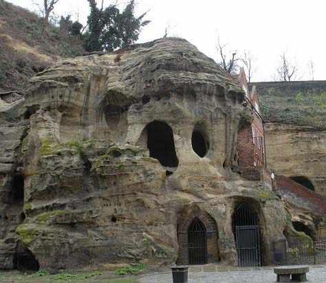 عکس, گزارش تصویری جالب از غارهای ناتینگهام در انگلستان