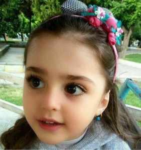image تصاویر دختر بچه زیبای ایرانی