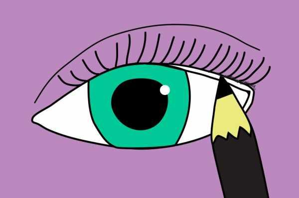image آموزش کشیدن حرفه ای خط چشم با عکس و توضیحات