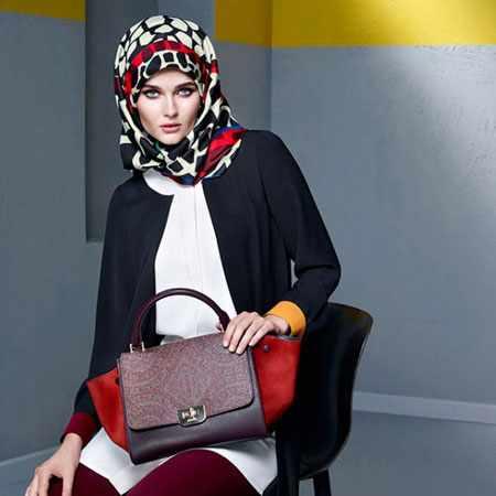 image مدل های زیبای روسری مجلسی زنانه