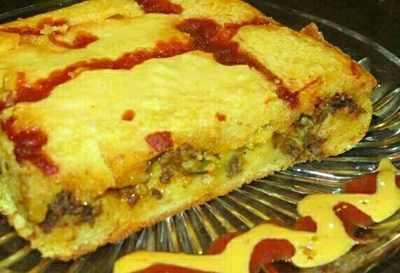 عکس, آموزش درست کردن دسر کیک گوشت