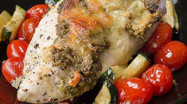 image آموزش پخت مرغ و سبزیجات با سس مخصوص