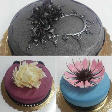 image مدل های جدید و زیبای تزیین کیک تولد و نامزدی