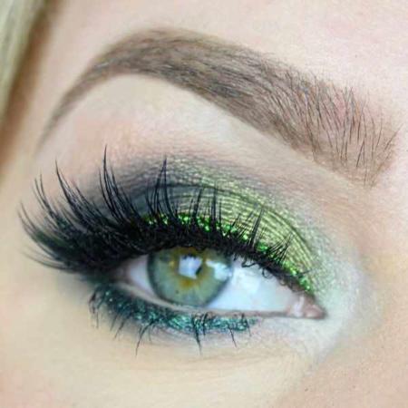 image آموزش استفاده از رنگ سبز سال  در لباس و آرایش