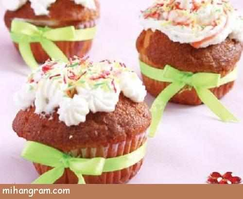 image آموزش درست کردن کاپ کیک خانگی